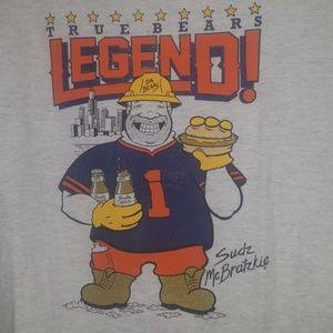 """Chicago Bears """"True Bears Legend"""" tee Sz XL"""